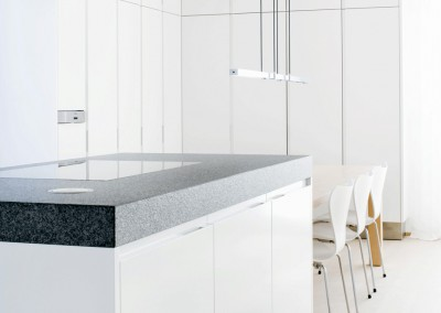 kracht - residential penthouse, kitchen