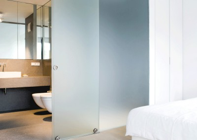 kracht - residential penthouse, bedroom