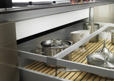 siematic pure, kitchen s1 - detail grip deck