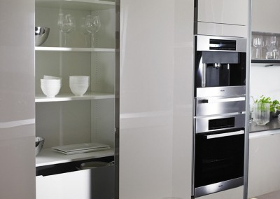 siematic pure, kitchen s1 - detail bus door