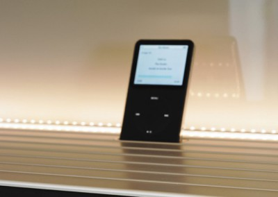 siematic pure,  kitchen s1 - detail ipod dock