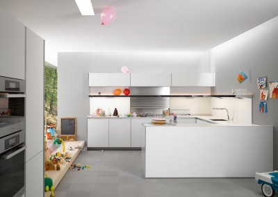 siematic pure, kitchen s1 - lotus white