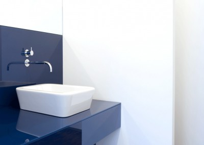 anta – lighting manufacturer, lavatory blue